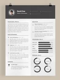 Graphic Design Resume Template Illustrator