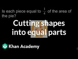 Steel Thickness Chart Fractions Cutting Shapes Into Equal Parts Video Khan Academy