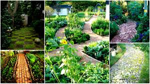41 ingenious and beautiful diy garden path ideas to realize in your backyard
