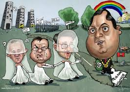 Image result for dragan covic milorad dodik karikature