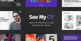 See My Cv 1 0 6 Resume Vcard Wordpress Theme