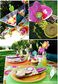 Mexican Themed Kitchen Decor Cinco De Mayo Party Ideas A Mexican Pinata Themed Fiesta Party