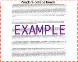pandora college beads research paper academic service pandora college beads