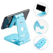 4 Color Mobile <b>phone</b> stand holder <b>desktop</b> stand <b>Foldable</b> Swivel ...