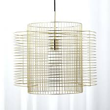 gold cage pendant light overlap brass cage pendant light rose gold cage pendant light