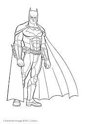 60 Disegni Supereroi Da Stampare E Colorare Con Superman E Batman Da