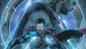 1360x768 Avengers Endgame Thor Poster ...