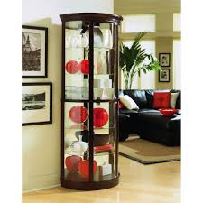 Living Room Cabinets With Glass Doors Small Curio Cabinet With Glass Doors Best Home Furniture Decoration