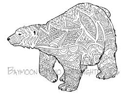 Small Picture Polar Bear Face Coloring Page Coloring Coloring Pages