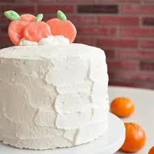 Chinese Bakery Style Orange And Strawberry Cream Cake The Pudgy Rabbit