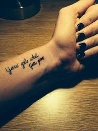 Short Tattoo Quotes Interesting 48 Short Inspirational Tattoo Quotes Ideas With Pictures Tattoo