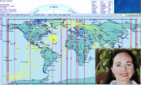 Astrocartography Chart Astrocartography And Relocation Astrology Finding The Best