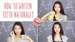 How do asians whiten teeth