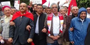 """Résultat de recherche d'images pour """"manifestation front populaire tunisie"""""""