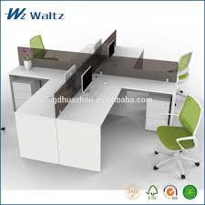 Acrylic Office Furniture Full Melamine Panel Acrylic Partition Office Furniture Standing