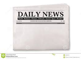 Newspaper Front Page Blank Template Newspaper Front Page Clipart