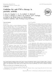 pdf guideline for anti tnf therapy in psoriatic arthritis