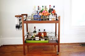 How to stock a bar cart (suggestions for a $250+ budget)