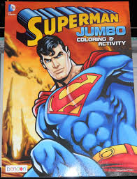 Best match ending newest most bids. Superman Jumbo Coloring Activity Book Bendon 0805219395639 Amazon Com Books