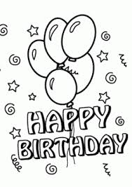 Small Picture Birthday coloring pages for kids Birthday Party Coloring Pages