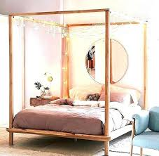 diy four poster bed four poster bed canopy post 4 ideas frame best ds