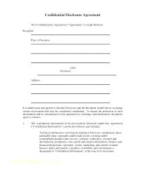 Simple Nda Template Free Form Template Free Non Disclosure Agreement Employee Sample Nda