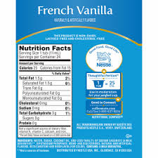 I have used coffee mate creamer powder for years. Jay C Food Stores Coffee Mate French Vanilla Liquid Coffee Creamers 24 Ct 0 37 Fl Oz