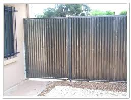 corrugated metal fence metal fence cost exotic corrugated metal fence cost co stylish intended for metal corrugated metal fence