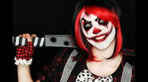 clown makeup tutorial easy scary clown 31 days of