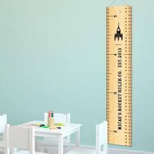 Canvas Height Chart Kids Canvas Height Chart Rocket Ruler