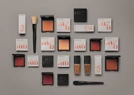 logo and packaging with copper foil del designed by we are bold for swedish cosmetics brand