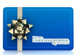 gift certificates for from the laser hair removal and skin clinic