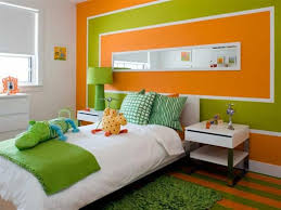 contemporary kids bedroom furniture green. Kids Bedroom With Modern Furniture And Striped Walls : The Best Contemporary Green U
