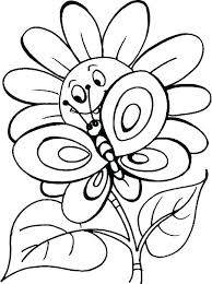 Flowers Printable Coloring Pages Free Flower Coloring Pages Combined