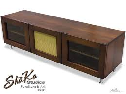 mid century modern inspired furniture. custom made montrose media console midcentury modern inspired mid century furniture