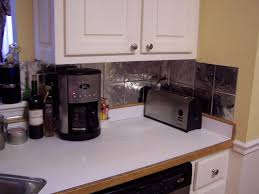 Tin Backsplashes For Kitchens Metal Backsplashes For Kitchens