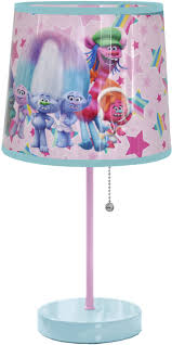Kids Bedroom Lamp Dreamworks Trolls Stick Kids Bedroom Lamp Night Light Children