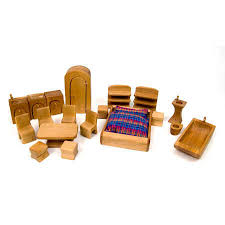 cheap wooden dollhouse furniture. Complete Dollhouse Furniture Set Cheap Wooden W