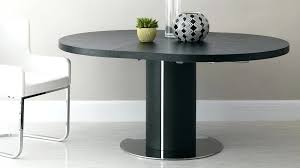 round extension tables large black extending dining table room furniture brisbane