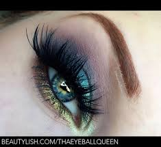 shimmering tropical pea smokey eye makeup tutorial lillee jean t s lilleejean photo beautylish