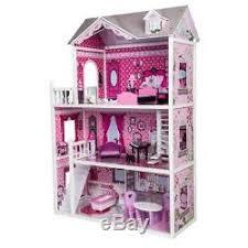 Barbie furniture for dollhouse Diy Barbie Pink Decorated Barbie Dollhouse Furniture Doll House Kids Toys Dolls Girls Gift Dolls House Miniatures Pink Decorated Barbie Dollhouse Furniture Doll House Kids Toys Dolls