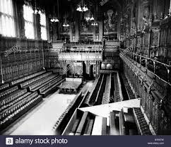 House Of Commons Interior London Stock Photos  House Of Commons - Houses of parliament interior