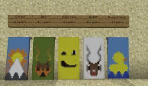 Minecraft Banner Patterns Amazing Overview Better Banner Bukkit Plugins Projects Bukkit
