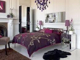 luxury bedroom furniture purple elements. Classic Luxury Bedroom With Purple Color Furniture Elements E