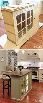 Repurposed Kitchen Island 25 Best Ideas About Dresser Kitchen Island On Pinterest Build
