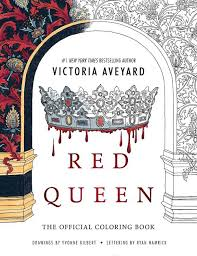 red queen the official coloring book read a sle enlarge book cover