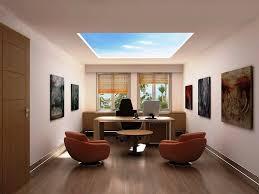 futuristic home office. Office:Futuristic Home Office Decor With L Shape Wooden Desk Cabinet And Stripped Rug Idea Futuristic