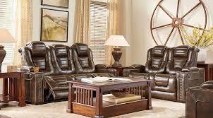 Leather Living Room Sets & Furniture Suites