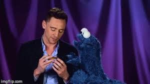 cookie monster tom hiddleston gif. Beautiful Cookie Animated GIF Tom Hiddleston Cookie Monster Share Or Download For Cookie Monster Tom Hiddleston Gif H