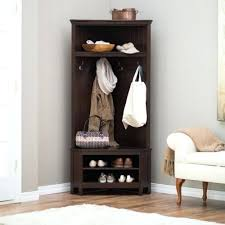Corner Hall Tree Coat Rack Extraordinary Hall Tree Furniture Hall Tree Coat Rack Bench Storage Furniture